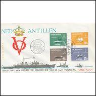 NED.ANTILLEN  /  FDC 1967  /   LAIVOJA