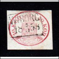 1856 Soikiom. 10 kop.  LOISTO  Wiborg -58  (Norma 1600€)