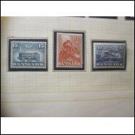 Tanska 1947 Fa 325-327 **
