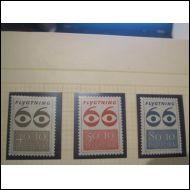 Tanska 1966 Fa 471-473 **