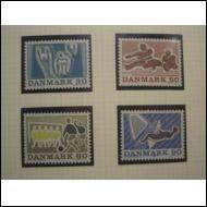Tanska 1971 Fa 539-542 **