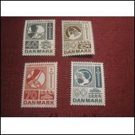 Tanska 1972 Fa 557-560 **