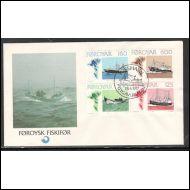 fär-saaret fdc foroysk fiskifor 28.4.1977
