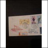 Tsekkoslovakia 1956 - Olympia ym FDC