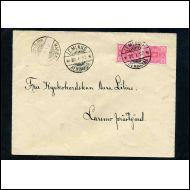 ÅLAND 1897 KIRJE LEMLAND - LARSMO