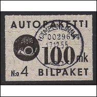 1949 Autopaketti 100mk Hämeenlinna-55
