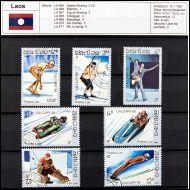 olympia, Calgary 88, Laos 1987 sarja leimattua