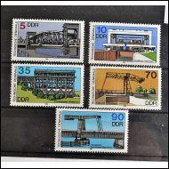 DDR 1988 SILTOJA SARJA 5 KPL,,,,,,,,,,,,**