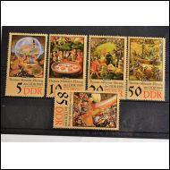 DDR 1989    5 KPL SARJA,,,,,,,,,,,,**