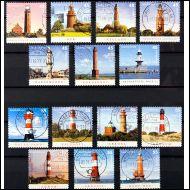majakoita, lighthouse, Saksa loistoleimoilla, 14 kpl