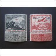Saksa Ranska Lentoposti 1942 ** Mi IV-V - Mi 70€