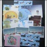 Ål postikorttia erä