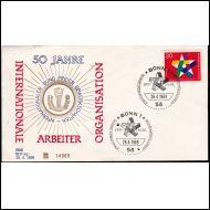 1969 FDC Saksasta
