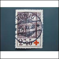 1933  -- PUNARISTI  LOISTO LEIMATTUNA  -- KÖYLIÖ 25 XI -33