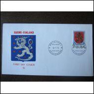 1978 FDC 20 mk yleismerkki