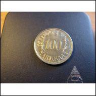 100 markkaa 1958.