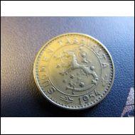 20 markkaa 1954.