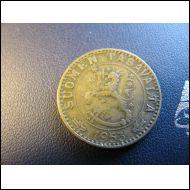 20 markkaa 1953.