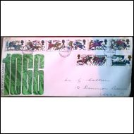 FDC 1966 Battle on Hastings 1066