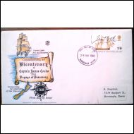 FDC 1968 Captain James Cook