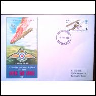FDC 1968 Royal Air Force