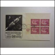 AVARUUS SPACE 1962 YK NEW YORK KUVA KUORI (HE643)