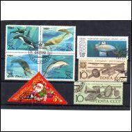 CCCP Vuoden 1990 postimerkkejä o