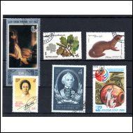 CCCP Vuoden 1980 postimerkkejä o