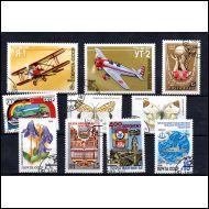 CCCP Vuoden 1986 postimerkkejä o
