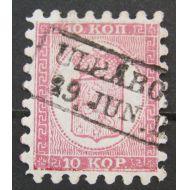 1860 10 kop kauniisti leimattu