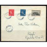 m/30 leijonat+30 mk postiauto 10.2.1947 HARVINAINEN FDC !!!!