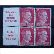 Deutsches Reich ZD W156-157