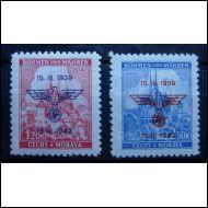 Böhmen und Mähren Mi 83/84**