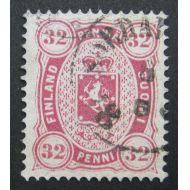1875 Kööpenhaminalainen leimattu, pieni ohentuma