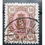 1889 10 mk lähes loisto