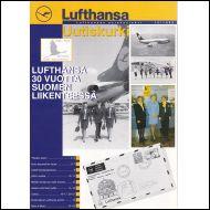 Lufthansa Asiakaslehti Uutiskurki   10/1998