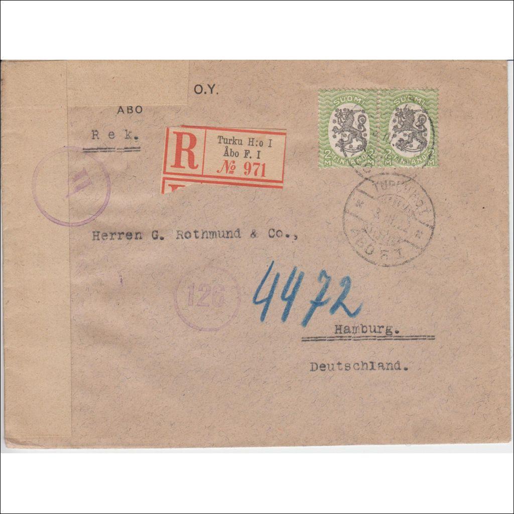 Kirje Saksaan
